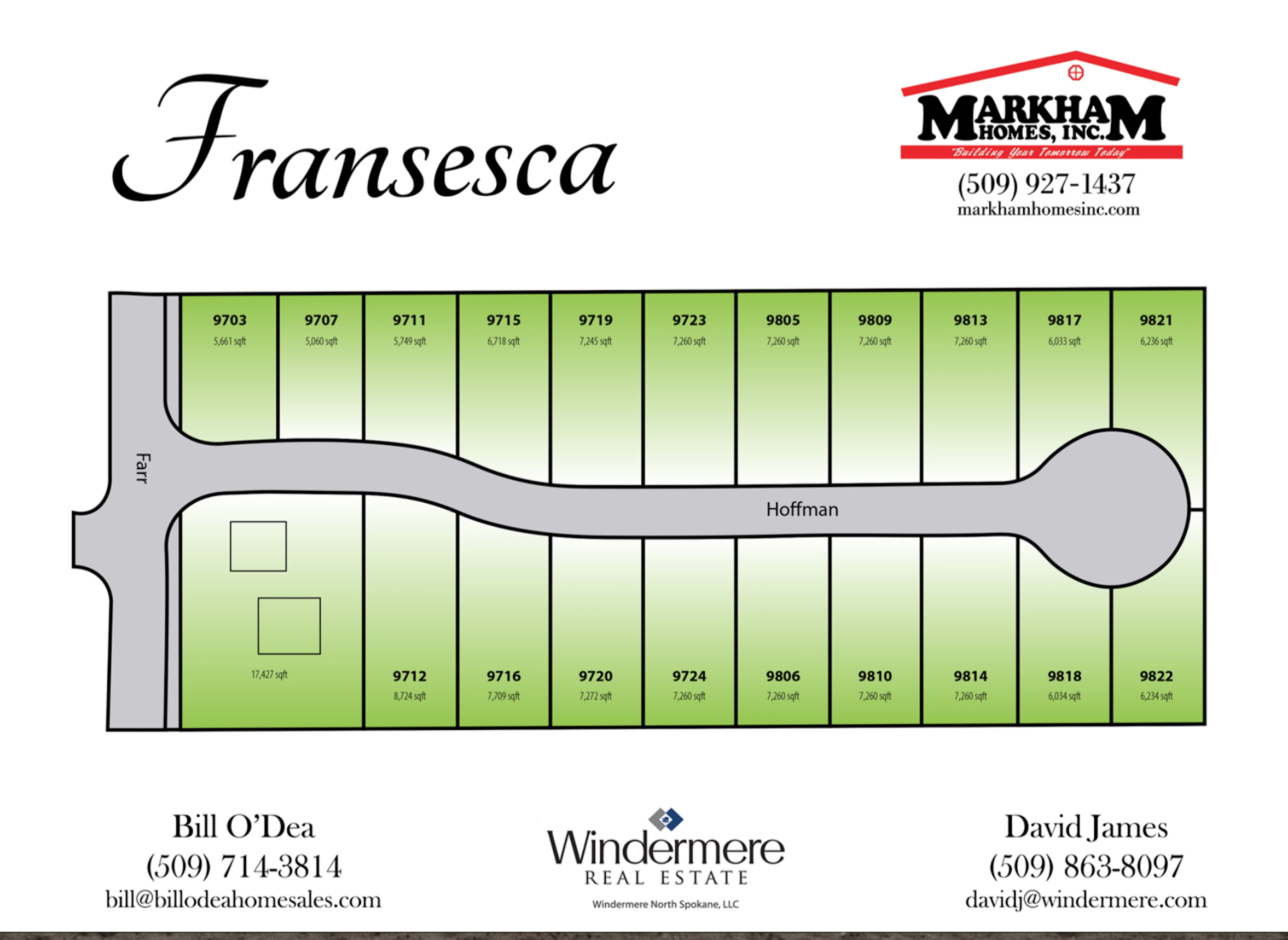 New Construction at Fransesca Estates - Spokane, WA 99206