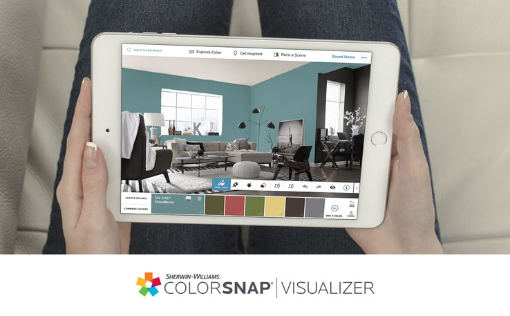Cool Tools to Re-tool: Color Snap by Sherwin Williams