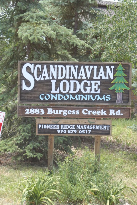 Scandinavian Lodge Sign