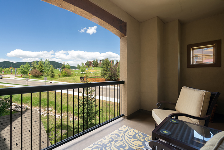 Photo from the deck of 2525 Village Drive #3D Steamboat Springs, CO 80487