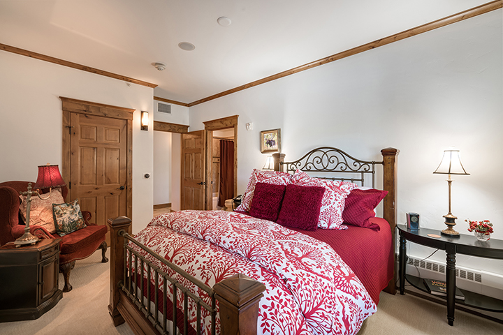 Photo of the bedroom at 2525 Village Drive #3D Steamboat Springs, CO 80487