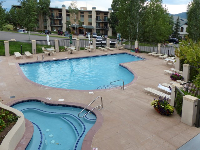 Photo of pool and hot tub at Storm Meadows Condos