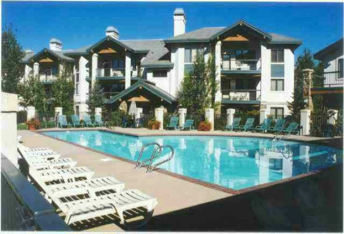 Photo of pool area at Storm Meadows Condos