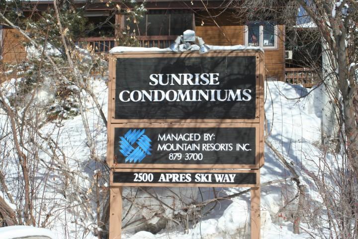 Sunrise Condos Sign