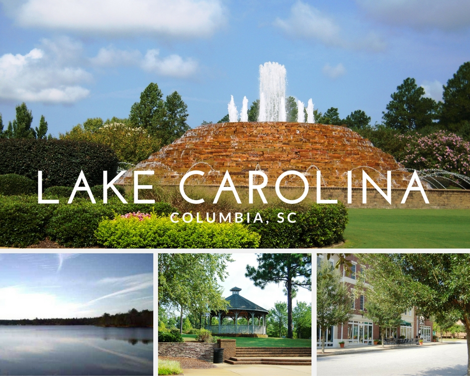 Lake Carolina homes for sale Columbia SC waterfront homes neighborhood in columbia Award Winning