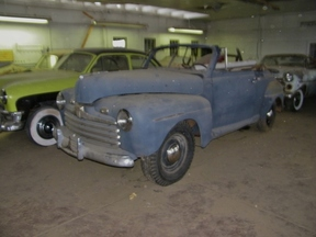 Active: 46 FORD CONVERTIBLE