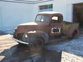 Sold,   $4,995.00: 1940 FORD V8 PICKUP