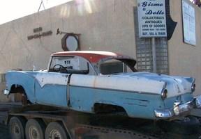 Active: 1955 FORD V8 FAIRLANE VICTORIA