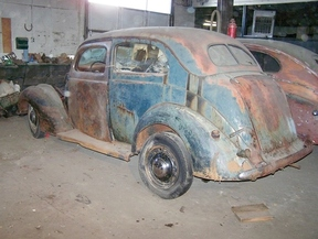 Active: 1937 FORD TUDOR SEDAN