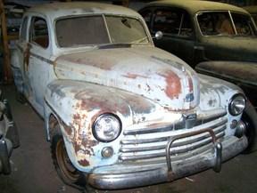 Active: 1947 FORD V8 SUPER DELUXE TUDOR