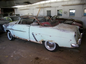 Active: 1952 FORD V8 SUNLINER CONVERTIBLE