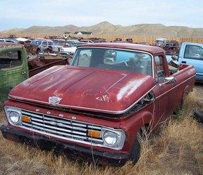 Sold: 1963 Ford V8 F-100 Unibody Pickup