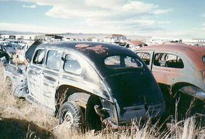 Sold: 1946 Ford V8 Super Deluxe Fordor