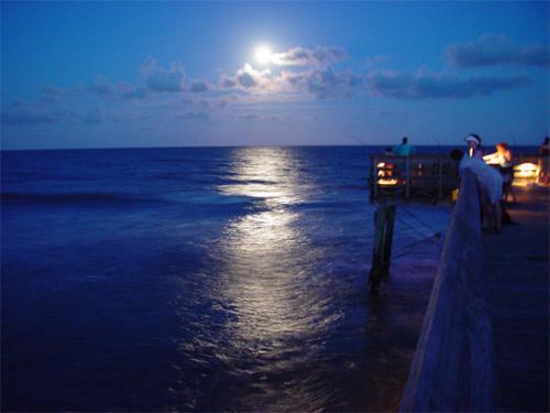 Isle of Palms Stunning Moon