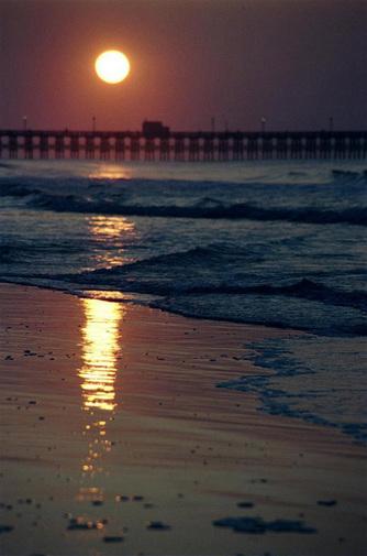 Apache Pier Sunrise