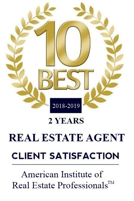 Award for 10 Best Real Estate Agents for Client Satisfaction