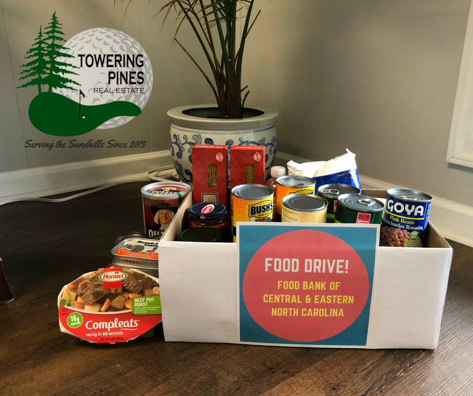 Picture of food donations