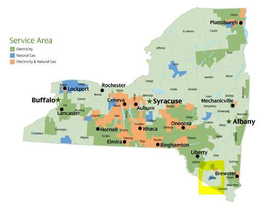 NYSEG Map