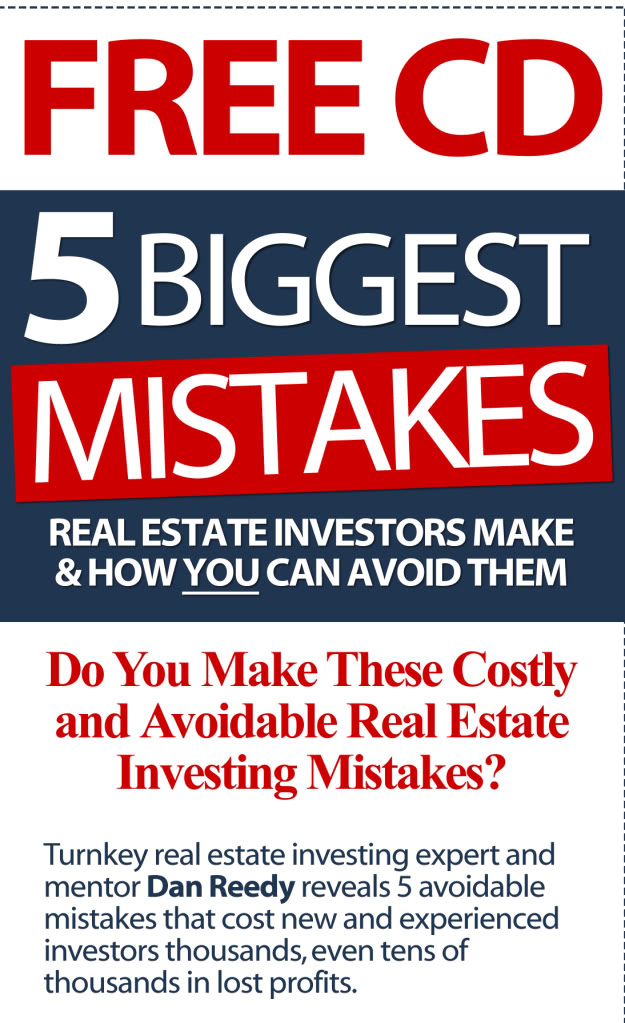 FREE REPORT!, 5 Biggest Mistakes Investors Make & How to Avoid Them