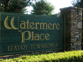 Unfurnished rental For Rent: Watermere Drive # 342