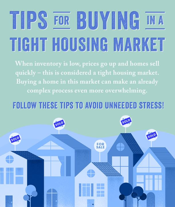 Tips for Buying a Home in a Sellers Market! Tips For Home Buyers on home staging tips, home business tips, home owners tips, home seller tips, home inspection tips, home selling tips,