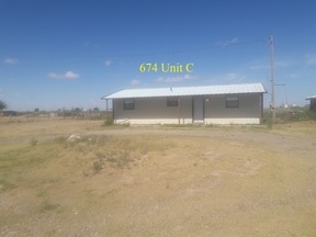 Portales  NM 5 Unit Rental Complex For Sale: $172,000 575-799-5682