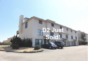 Condo/Townhouse Sold: 3836 N Virginia Dare Trail #D2