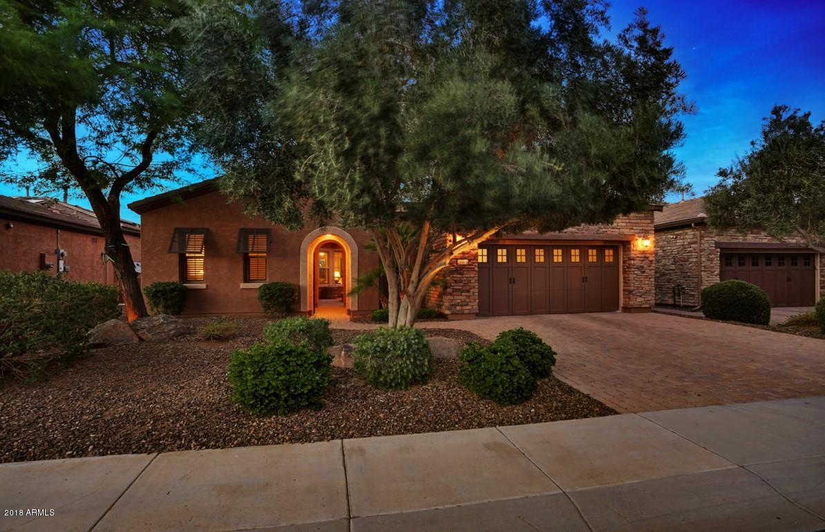 Friedman Realty Associates, 28415 N. 130th Dr., front view at twilight