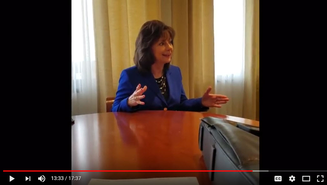 Friedman Realty Associates, interview with Peoria Mayor Cathy Carlat, March 7, 2018