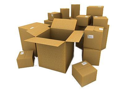 Friedman Realty Associates moving packing boxes