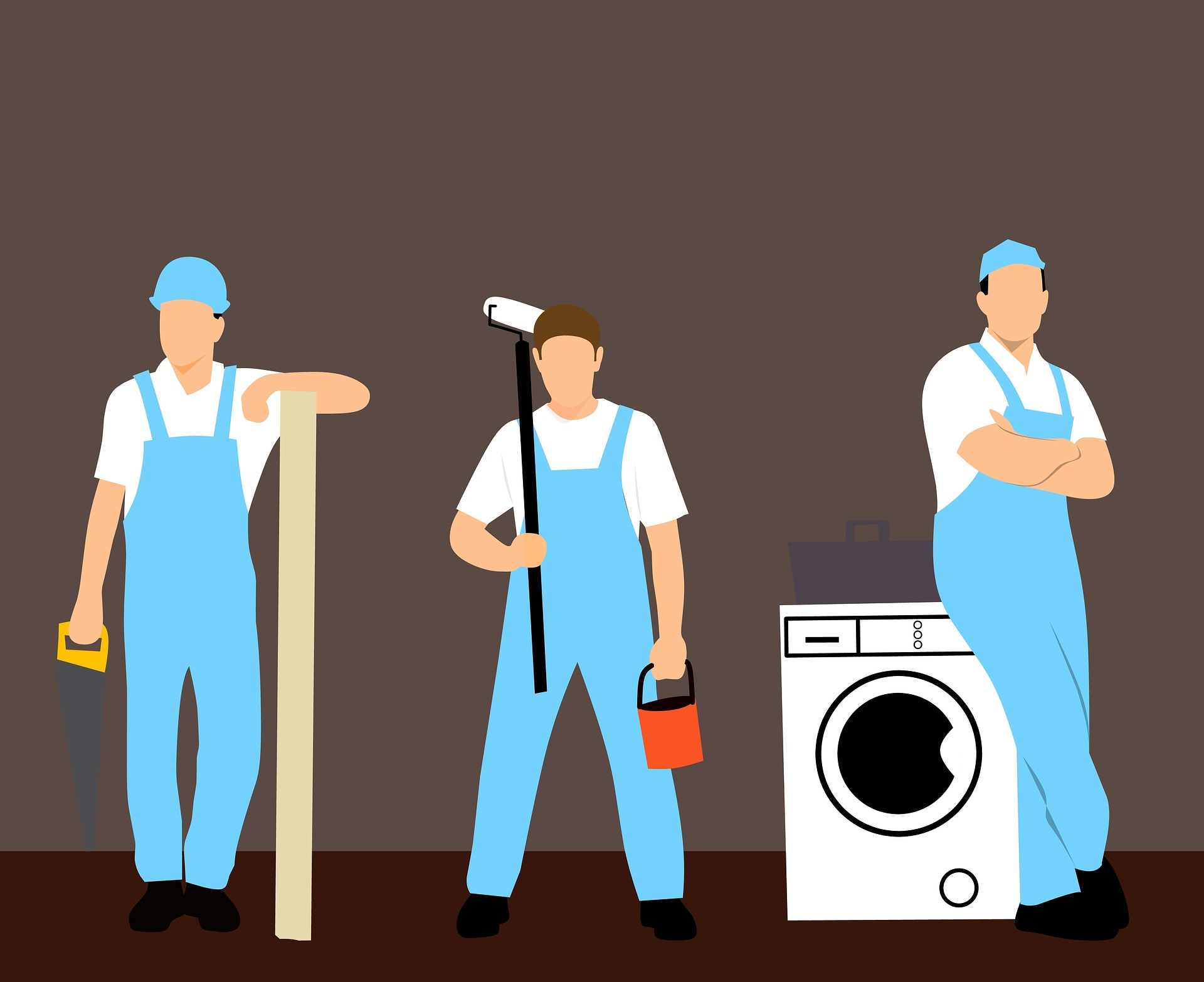 Friedman Realty Associates, handyman can help with minor maintenance issues around your new home