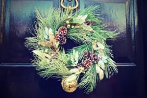 Friedman Realty Associates, holiday wreath on door