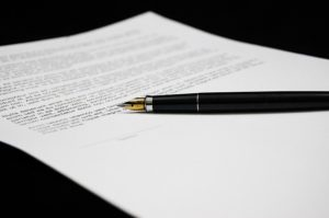 Friedman Realty Associates, signing HOA papers