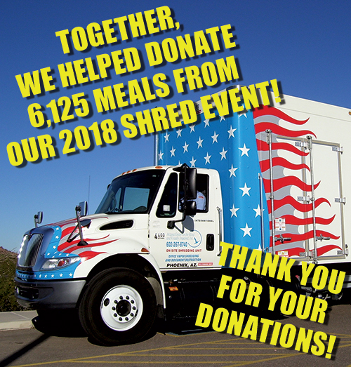shred truck, complimentary shred event, friedman realty associates