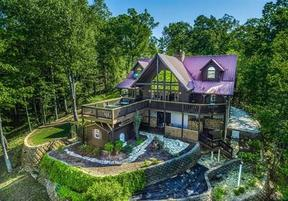 Single Family Log Home For Sale: 125 Bridge Pointe Lane