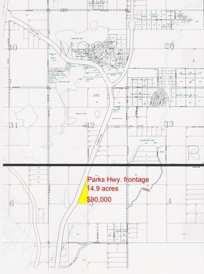 Lots And Land Sold: 48961 S Parks Hwy