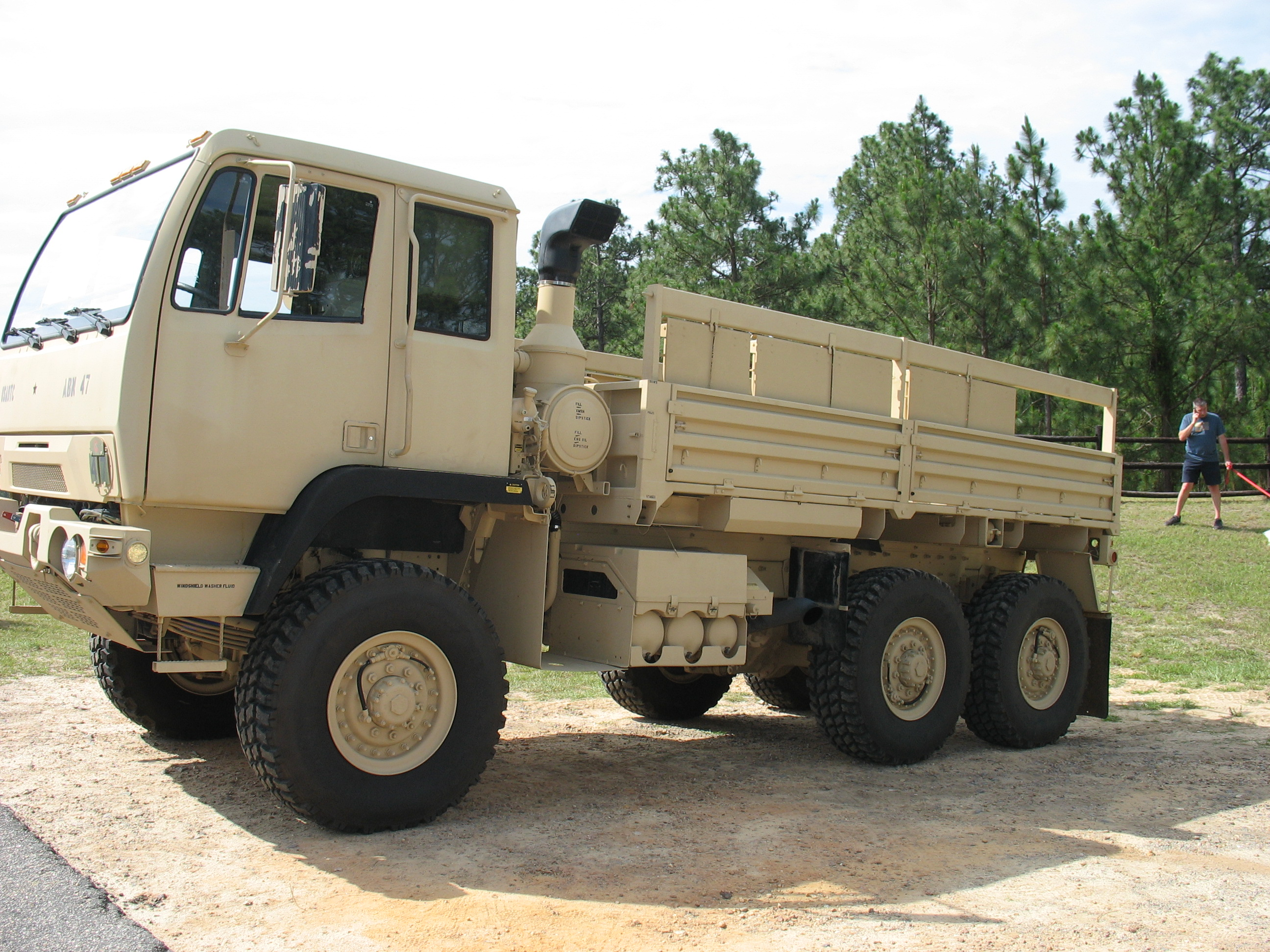 Picture of Army truck