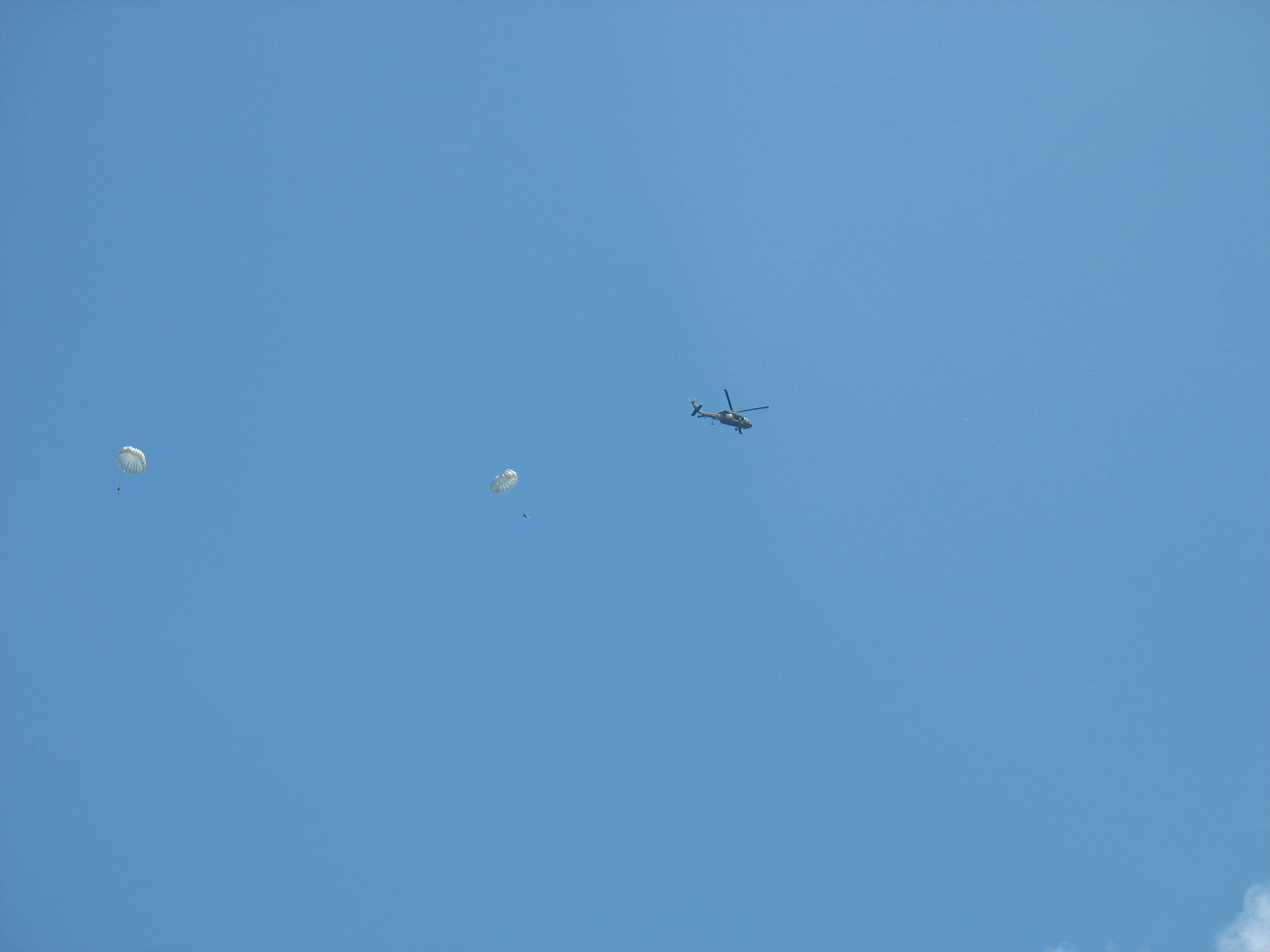 picture of paratroopers