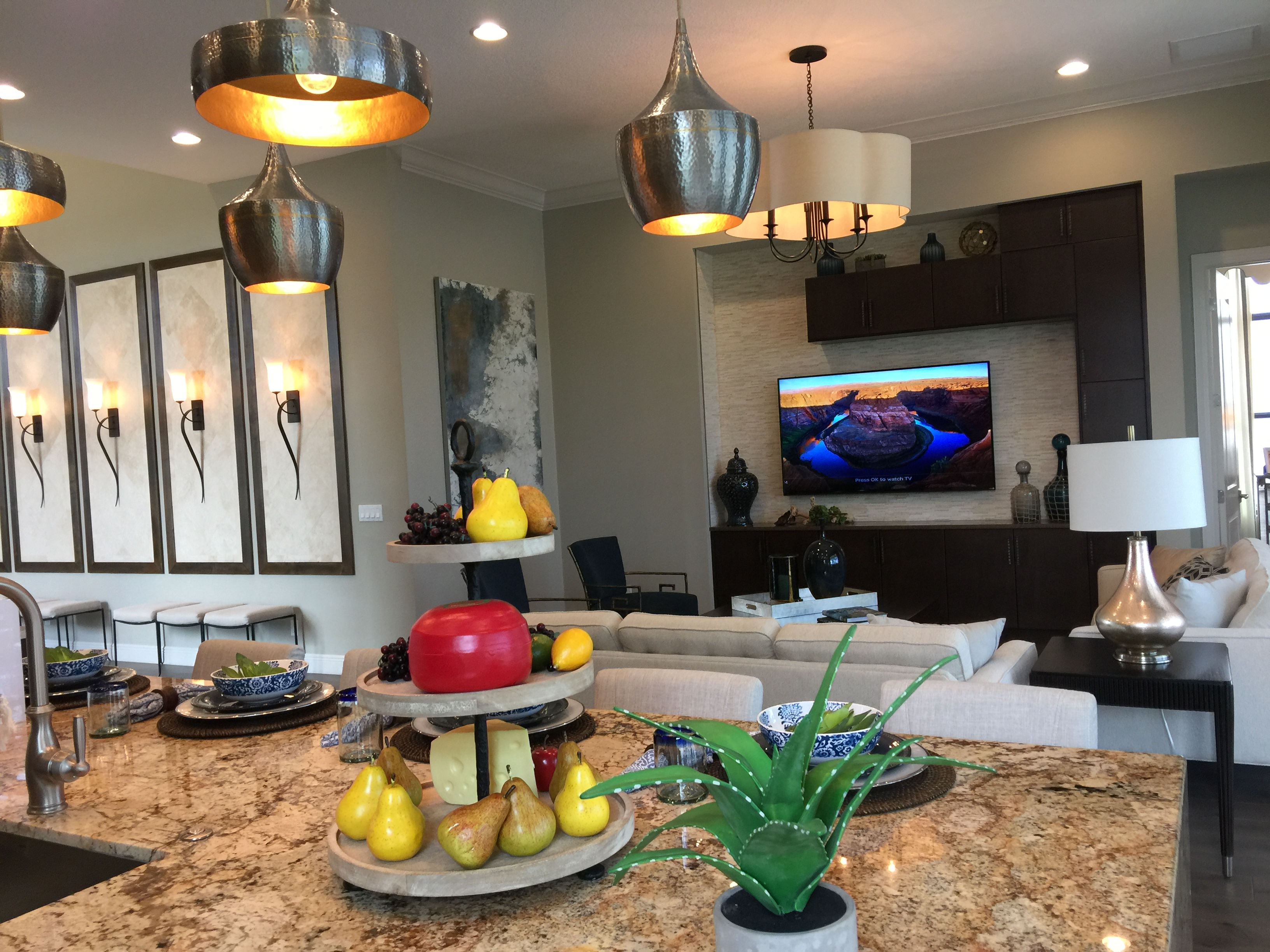 Alton kitchen model home