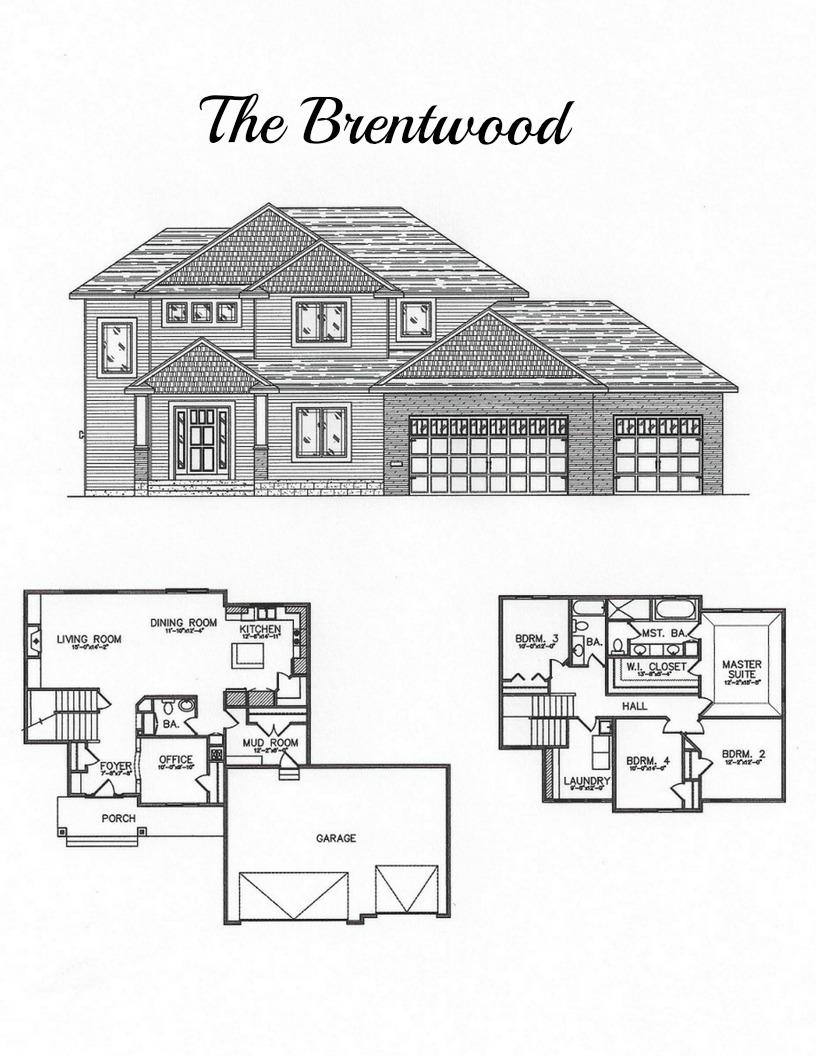 2 story floor plan