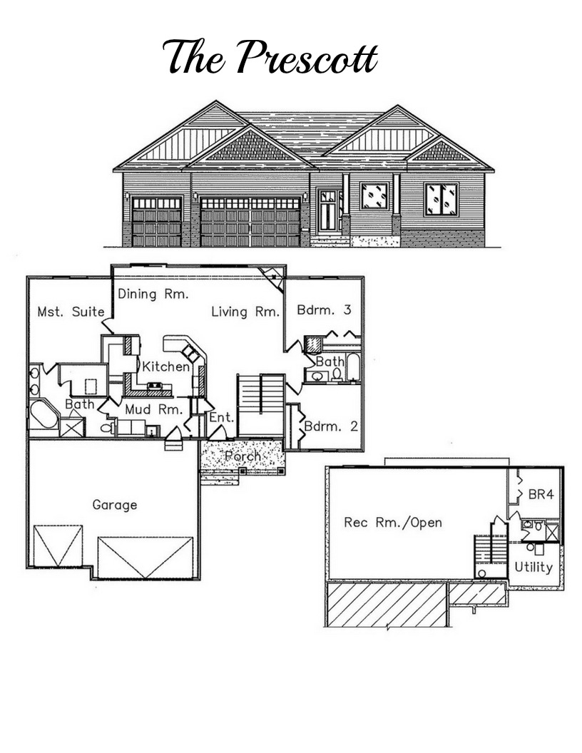 Rambler floor plan