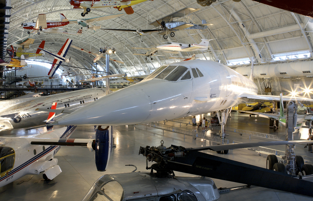 Smithsonian's National Air and Space Museum Udvar Hazy Center is located in Chantilly, VA.