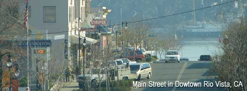 Main Street in Downtown Rio Vista