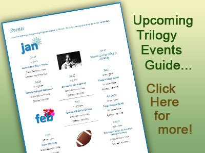 Check out Upcoming Trilogy Events!