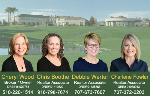 The Wood Real Estate Team - Cheryl Wood, Chris Boothe, and Debbie Werter