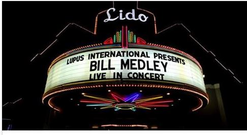 Bill Medley performs at the Lido.