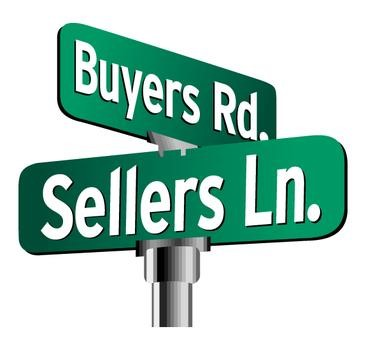 Sellers Ln - Buyers Rd Street Sign