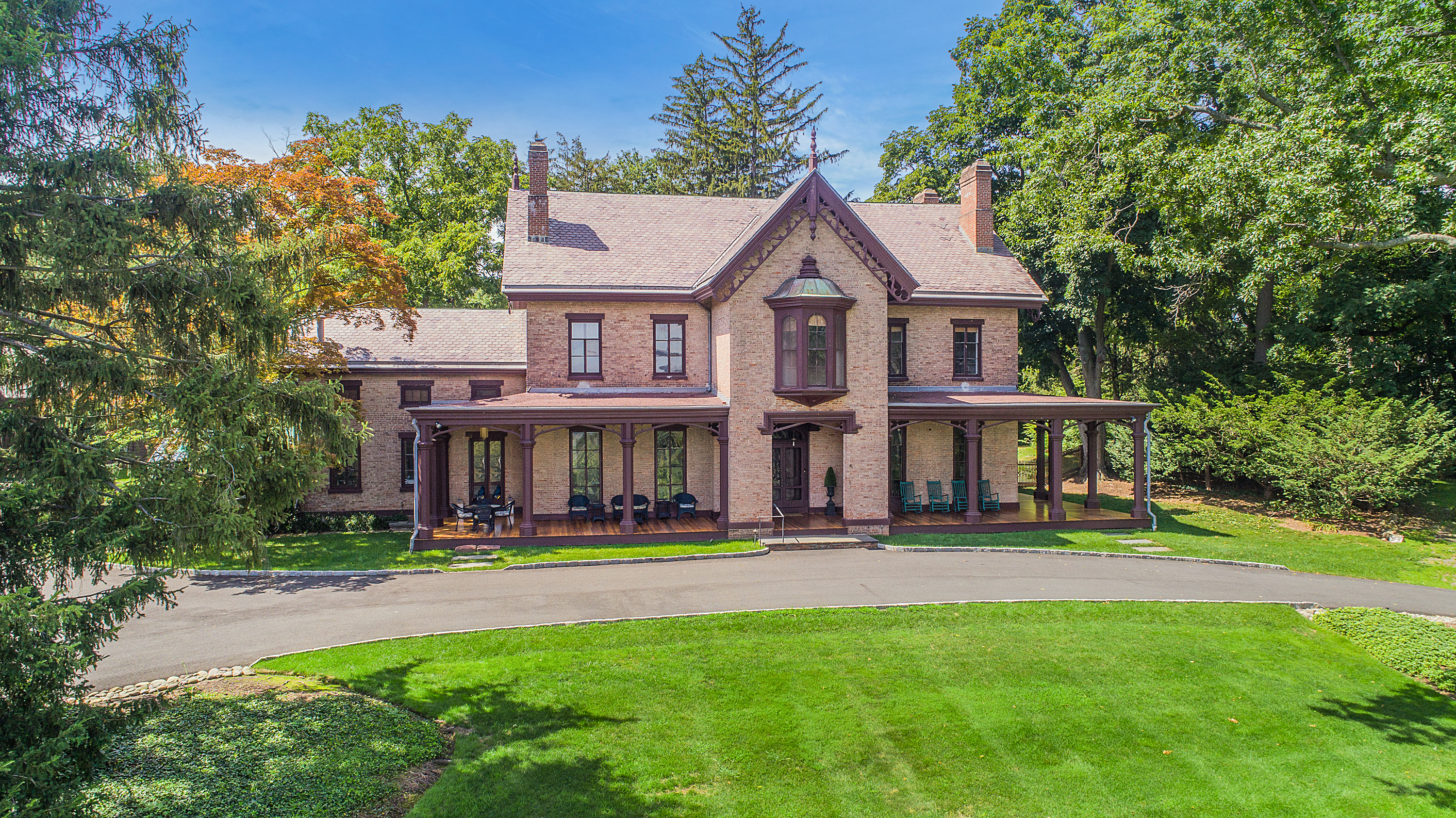 The Ross Hand Mansion 122 S Franklin  Nyack 10960 For Sale by Donna Cox Better Homes and Gardens Rand Realty donnacox.com