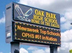 Oak Park Schools Top 10 in State!