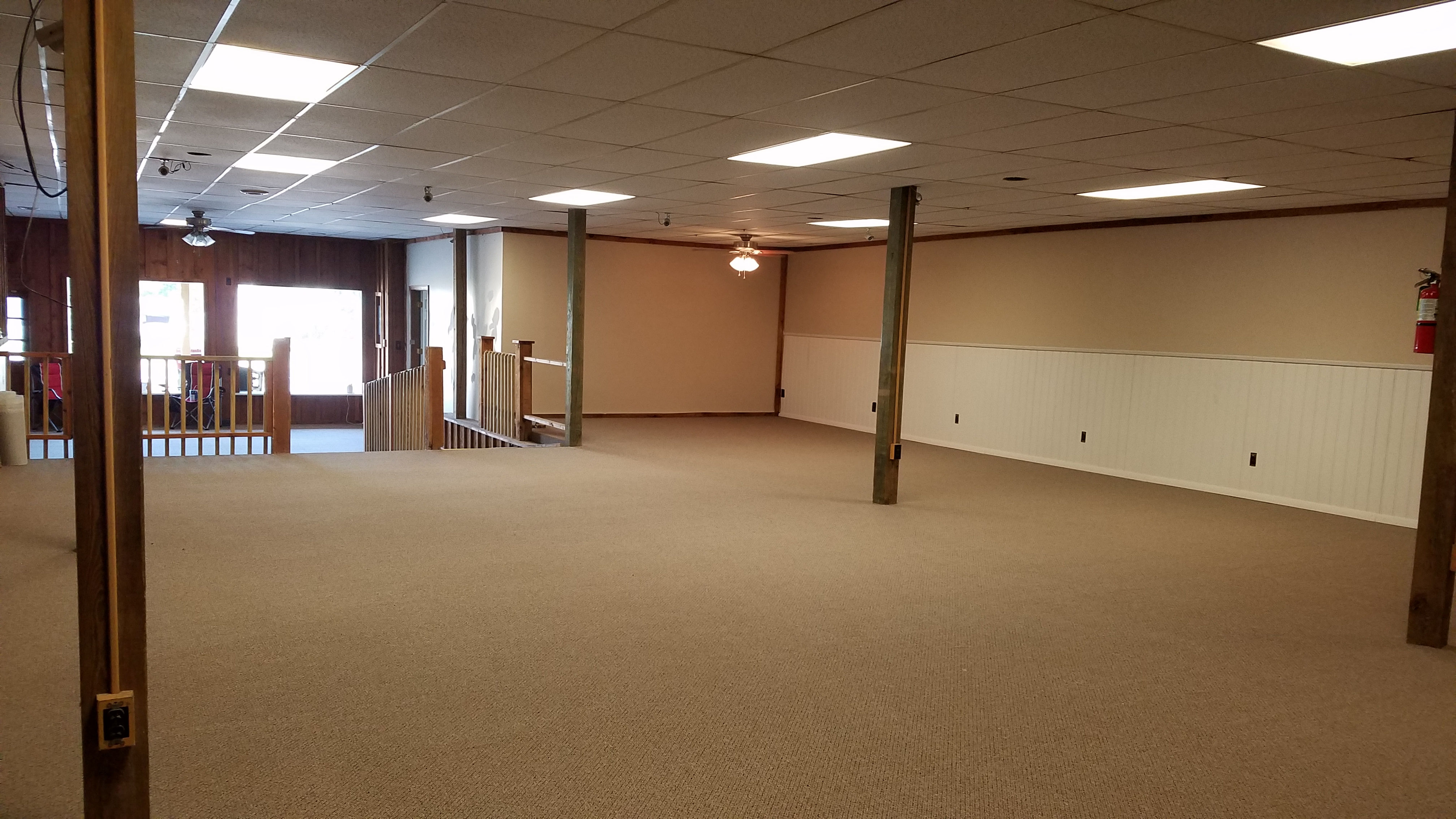 Fresh New full Carpeting. For Rent